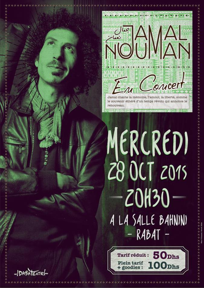 Affiche concert 28 octobre